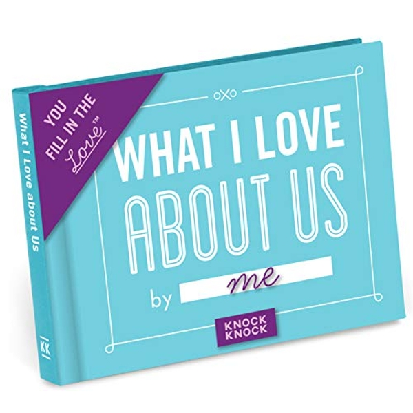 Knock Knock What I Love About Us Fill in the Blank Journal  Notebook / blank book 2015