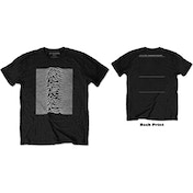 Joy Division - Unknown Pleasures Men's XXX-Large T-Shirt - Black