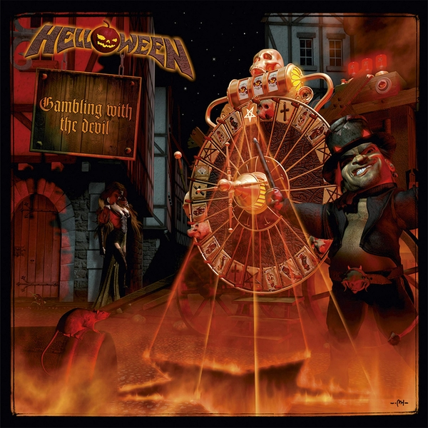 Helloween - Gambling With The Devil Clear  Vinyl