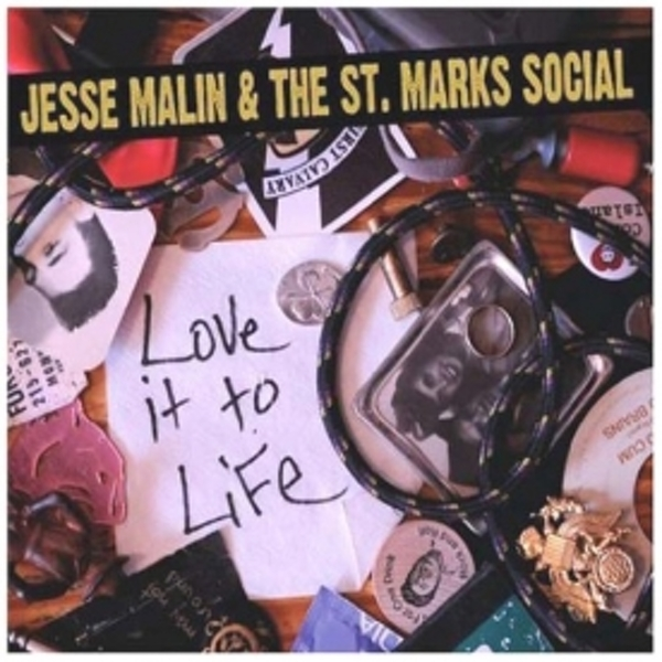 Love It To Life - Jesse Malin & St Marks Social CD