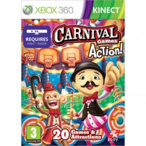 Kinect Carnival Games In Action Xbox 360