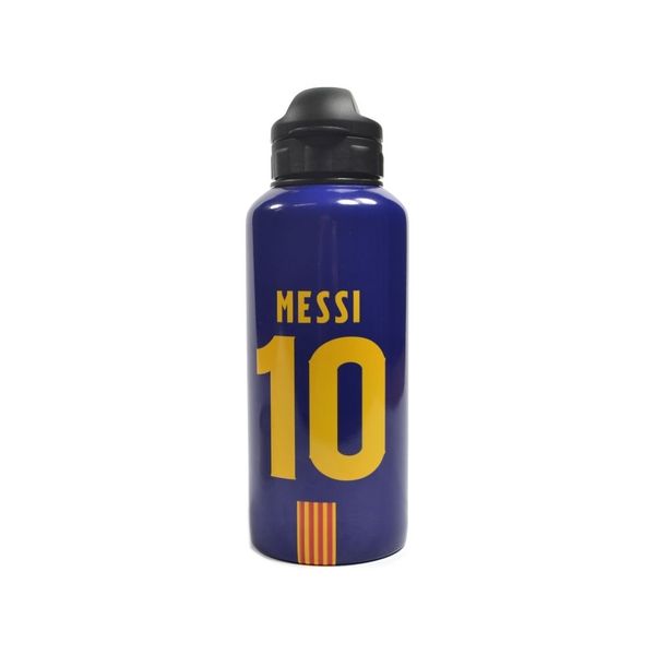 FC Barcelona No 10 Messi 400ml Aluminium Water Bottle