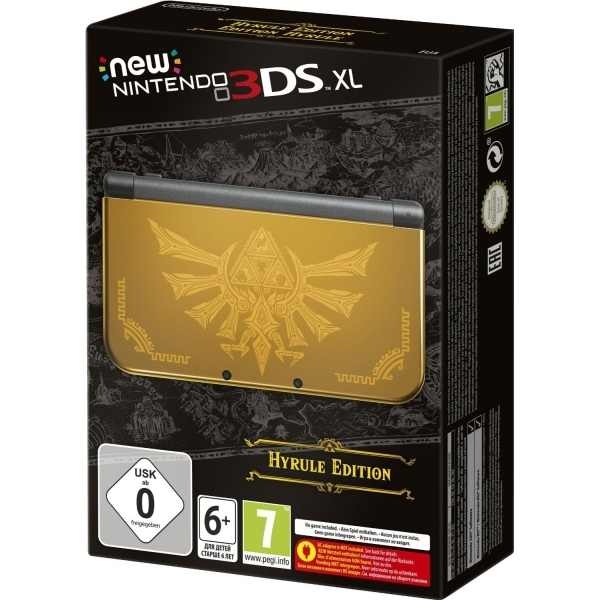 Nintendo new 3ds xl console hyrule gold edition - Nintendo 3 ds xl console ...