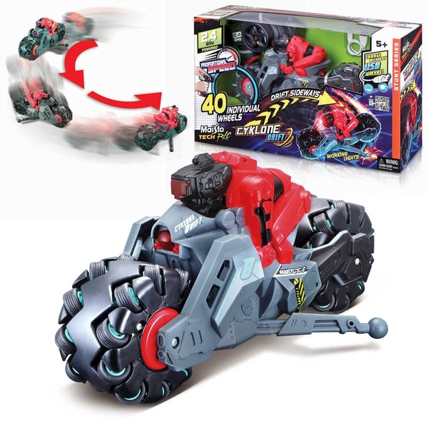 Cyklone Drift Motorbike Radio Controlled Toy