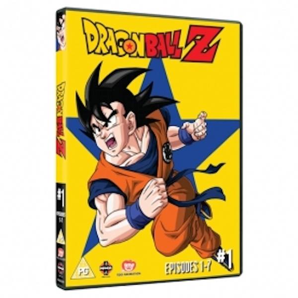 Dragon Ball Z Season 1 Part 1 Episodes 1-7 DVD