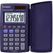 Casio HS8VER Pocket Calculator 8 Digit Display