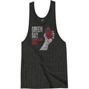 Green Day American Idiot Vintage with Tassels Ladies Small T-Shirt Dress