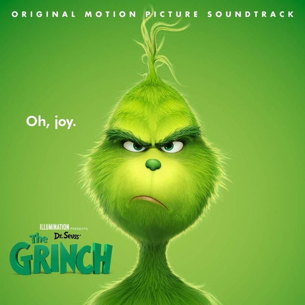 Dr. Seuss' The Grinch OST Soundtrack CD