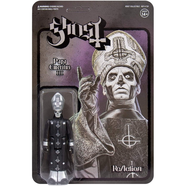 Papa Emeritus III Black & White (Ghost) ReAction Figure