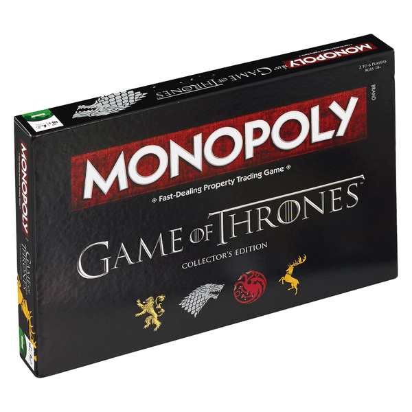 Game Of Thrones Monopoly Collector\'s Edition