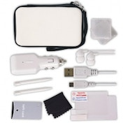 Crown Deluxe 12-in-1 Accessory Pack White 3DS