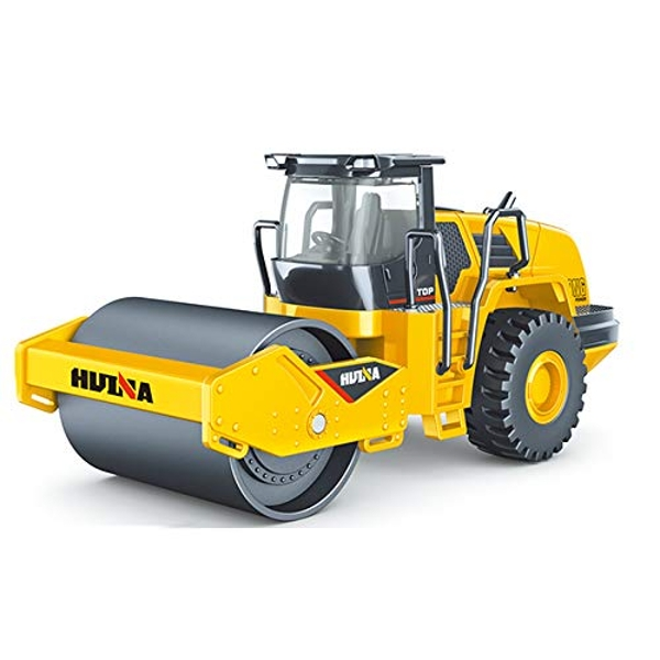 Huina 1/50 Diecast Road Roller Static Model - Image 1