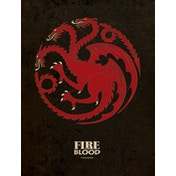 Game of Thrones - Targaryen Canvas