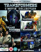 Transformers: 5 Movie Collection Blu-ray