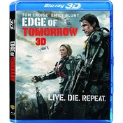 Edge Of Tomorrow (2014) Blu-ray 3D
