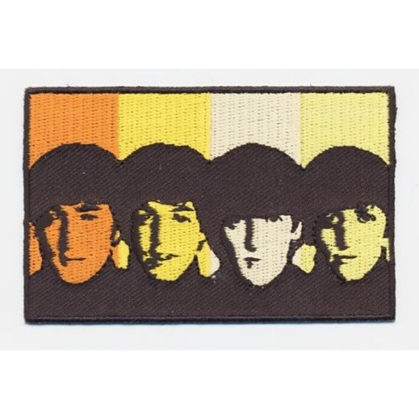 The Beatles - Heads in Bands Standard Patch