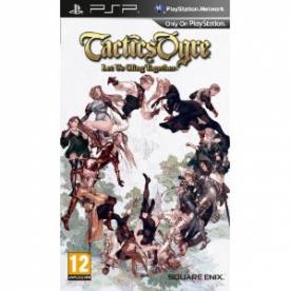 Tactics Ogre Let Us Cling Together Game PSP