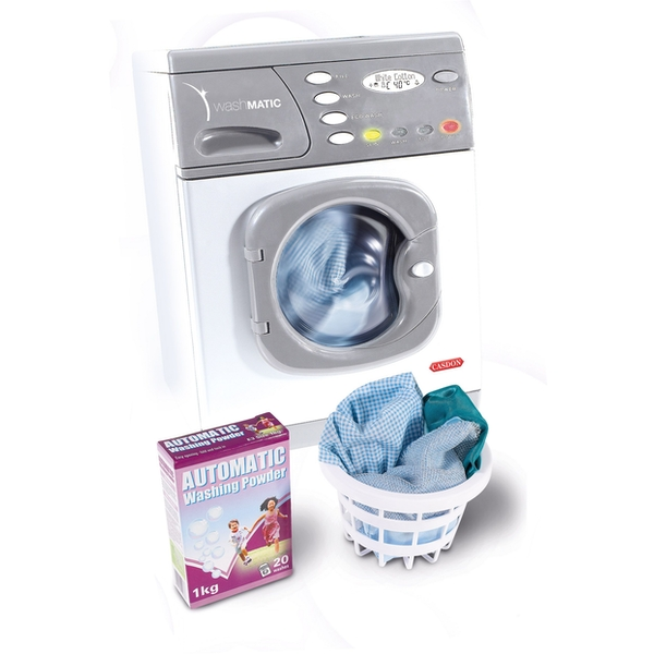 Electronic Washer Childrens Playset