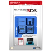 Hori Officially Licensed 24 Game Card Case Blue 3DS/DSi/DSL
