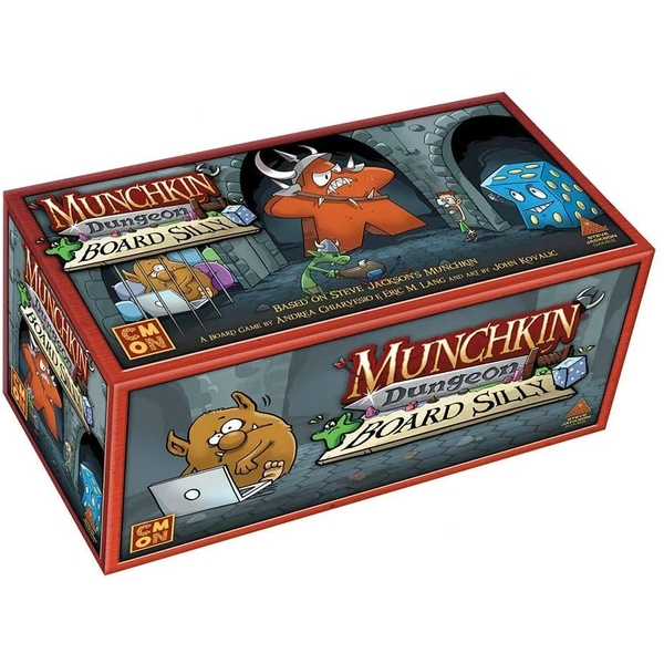 Munchkin Dungeon: Board Silly Expansion Card Game
