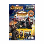 Marvel Avengers Infinity War Sticker Collection Starter Pack
