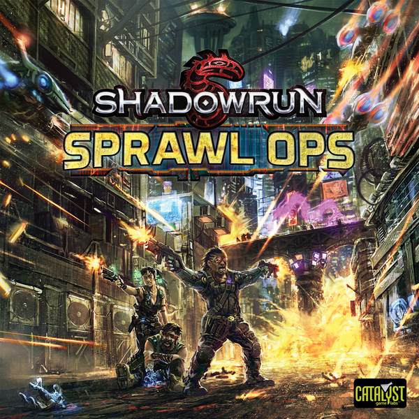 Shadowrun Sprawl Ops Board Game