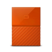 Western Digital My Passport external hard drive 1000 GB Orange
