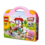 LEGO Bricks & More Pink Suitcase