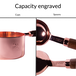 Copper Plated Measuring Spoons & Cups - Set of 8 | M&W - Image 5