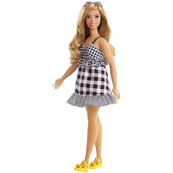 Barbie Fashionista Doll - Black and White Gingham