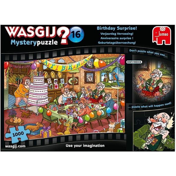 Wasgij Mystery 16 Birthday Surprise Jigsaw Puzzle - 1000 Pieces