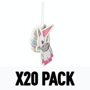3D Carded Strawberry (Pack Of 20) Unicorn Air Freshener
