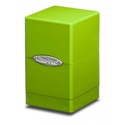 Ultra Pro Lime Green Satin Tower Deck Box