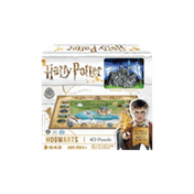 Mini Harry Potter Hogwarts - 4D Cityscape Jigsaw Puzzle