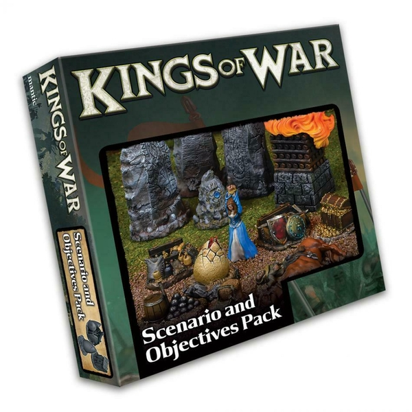 Kings of War 3rd Edition Scenario and Objective Set