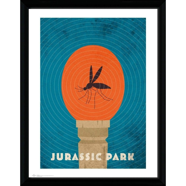 Jurassic Park - Amber Collector Print