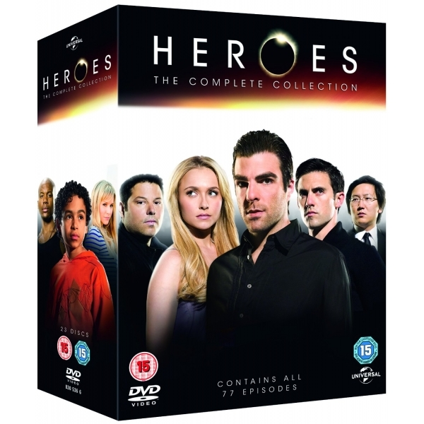 Heroes: The Complete Series 1-4 DVD