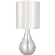 Lloytron L2204BC 'Eclipse' Touch Table Lamp Brushed Chrome Finish