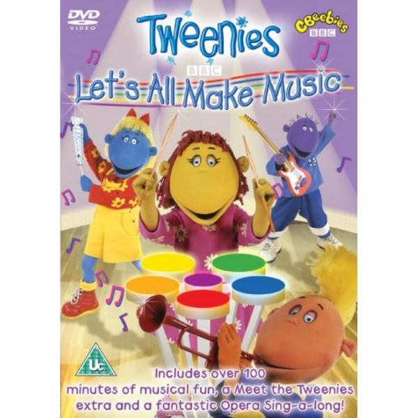 Tweenies Let's All Make Music DVD