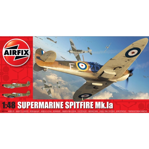 Supermarine Spitfire Mk.1 a Series 5 1:48 Air Fix Model Kit