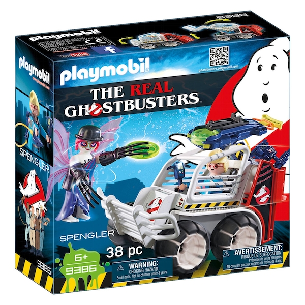 Playmobil Ghostbusters Spengler with Cage Car
