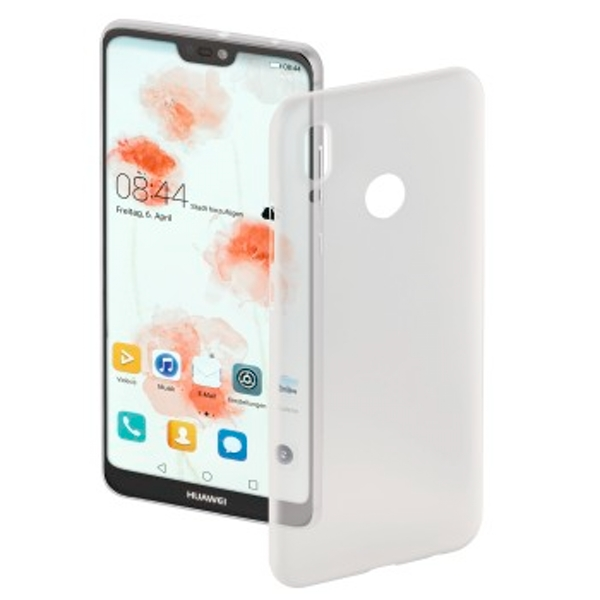 "Hama ""Ultra Slim"" Cover for Huawei P20 Lite, white"