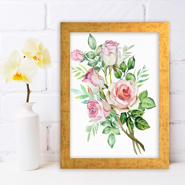 AC626146439 Multicolor Decorative Framed MDF Painting