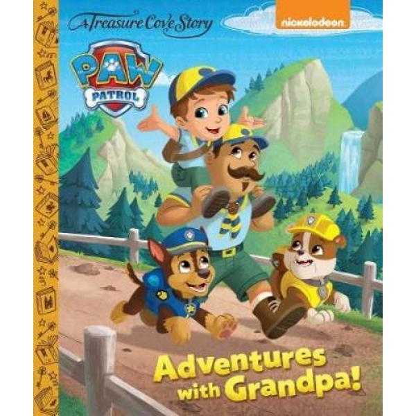 Paw Patrol - Adventures with Grandpa!  Hardback 2018