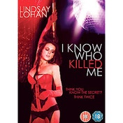 I Know Who Killed Me DVD