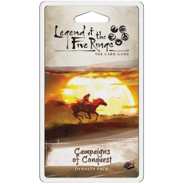 Legend of the Five Rings LCG: Campaigns of Conquest Dynasty Pack