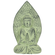 Green Terracotta Buddha Plaque