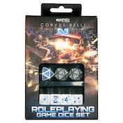 Infinity RPG Dice Set Mercenary (Set of 7)