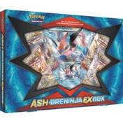 Ex-Display Pokemon TCG Ash-Greninja-EX Trading Card Box Used - Good