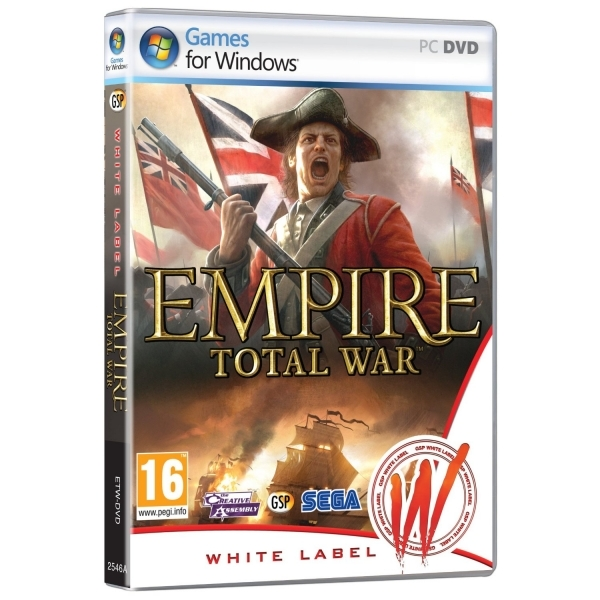 Total War Empire Game (White Label) PC